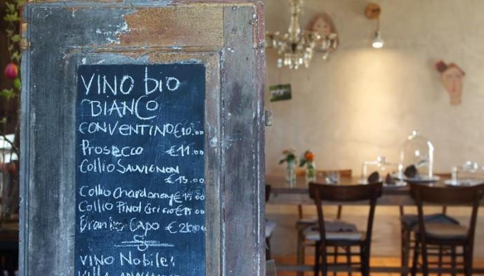 Das Restaurant Bioweine